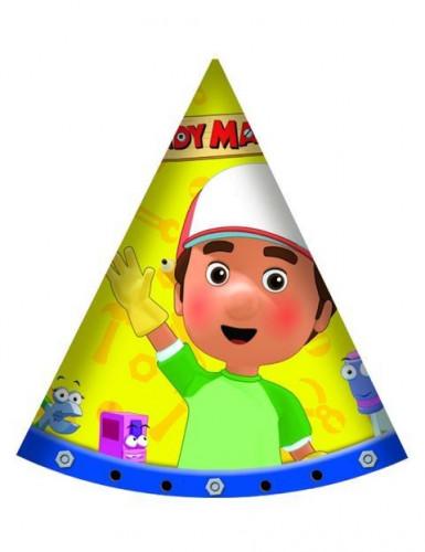 6 Partyhüte Meister Mannys Werkzeugkiste™