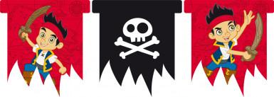Wimpel-Girlande - Jake und die Nimmerland Piraten™