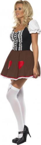 Sexy bayrisches Dirndl-Kostüm für Damen-1