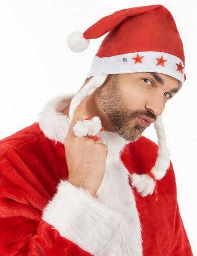 Leuchtende Weihnachts-Mütze für Erwachsene-2