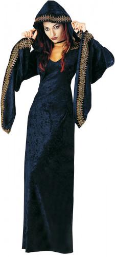 Halloween Priesterin-Kostüm für Damen
