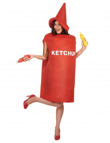 Ketchup-Tube - Kostüm für Erwachsene-1