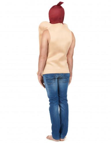 Hot-Dog-Kostüm für Erwachsene-2