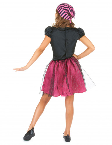 Rosa Seeräuberin-Kostüm für Mädchen-2