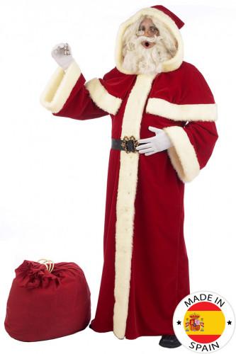 Premium - Edles Weihnachtsmann-Kostüm für Erwachsene