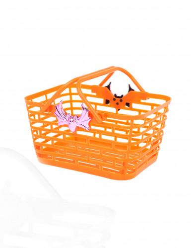 Orange Halloween Bonbon-Korb