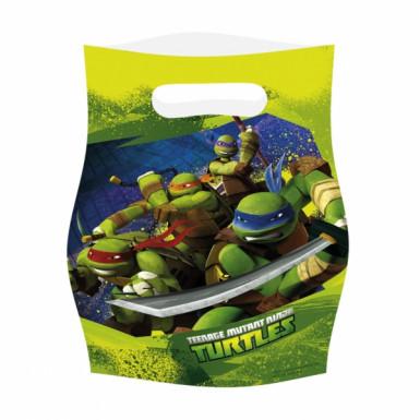 6 Ninja Turtles™ Geburtstagstüten