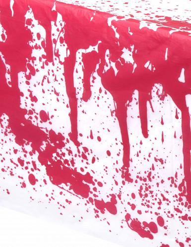 Blutbefleckte Tischdecke Halloween-1