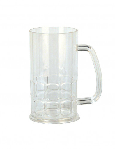 Bierkrug aus Kunststoff