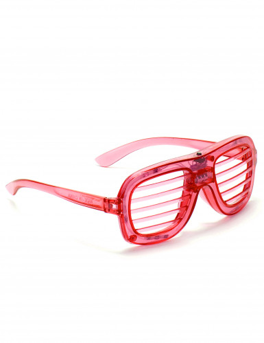 Rote LED-Brille