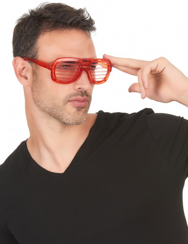 Rote LED-Brille-1
