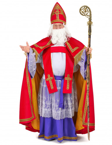 Sankt Nikolaus Bischof-Kostüm für Herren