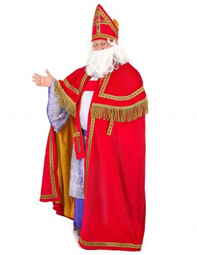 Sankt Nikolaus Bischof-Kostüm für Herren-1