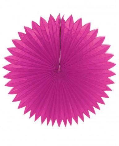 Papier-Rosette - Pink