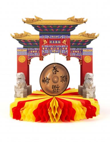 Tischaufsteller - Chinesischer Tempel