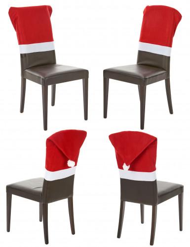 Stuhlüberzieher rot Weihnachten