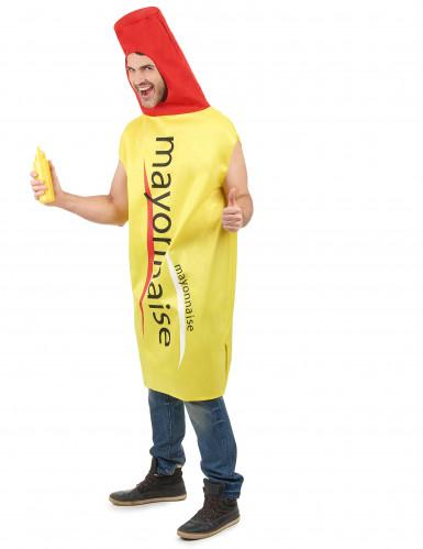 Mayonnaise-Kostüm für Erwachsene-1