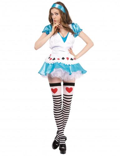 Sexy Alice-Kostüm für Damen