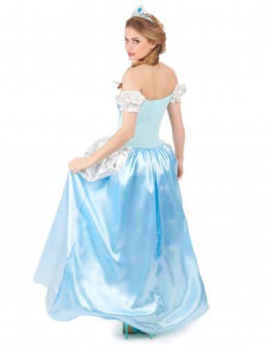 Blaues Prinzessinnen-Kostüm für Damen-2