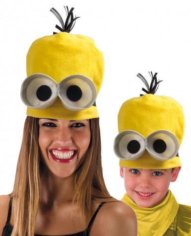 Lustiger Hut gelbe kleine Untergebene