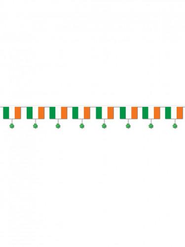 Girlande Irische Flagge grün-weiss-orangenfarben 3,7m-1