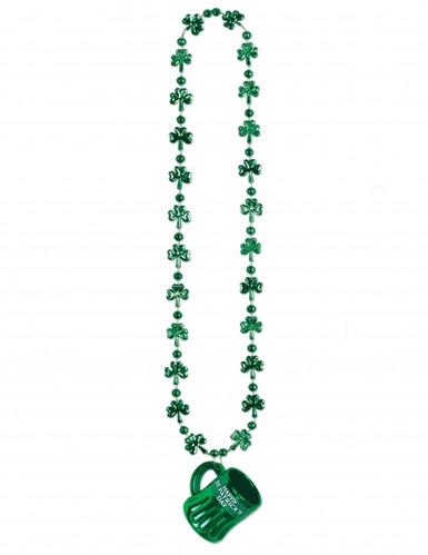 Saint Patrick Bierkrug-Halskette