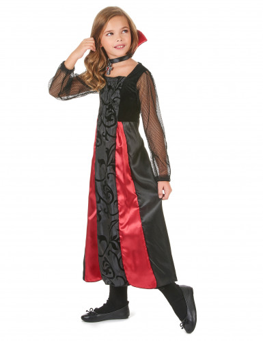Süßes Vampirmädchen Kostüm-1