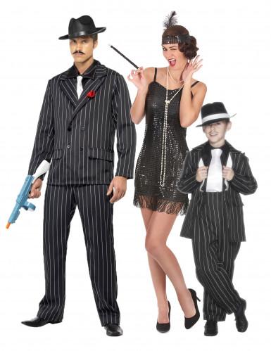 30er Jahre Gangster Familienkostüm