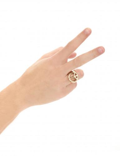 Goldener Hippie Ring-1