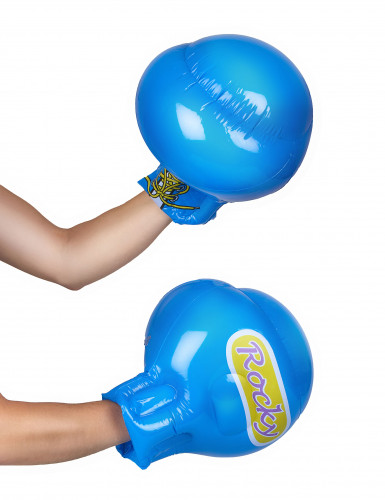Aufblasbare blaue Boxhandschuhe-1