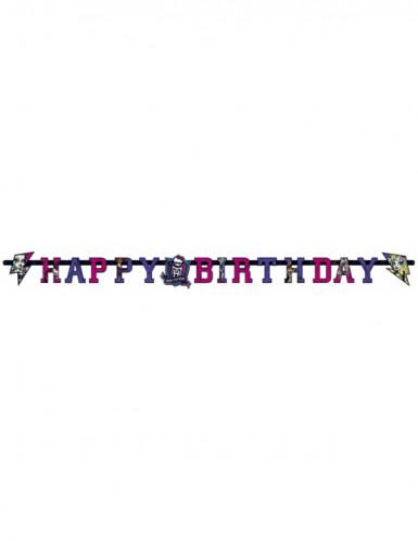 Geburtstagsgirlande Monster High 2