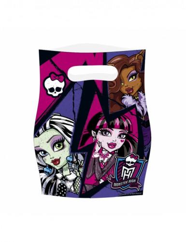 6 Monster High™ Geburtstagstüten