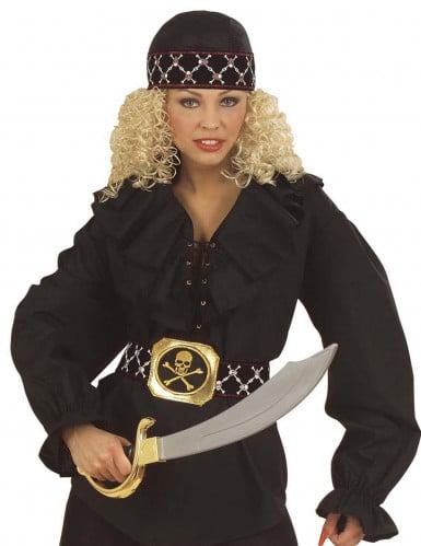 Piraten-Kopftuch für Erwachsene