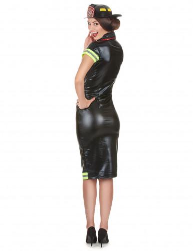 Feuerwehrfrau Kostüm für Damen-2