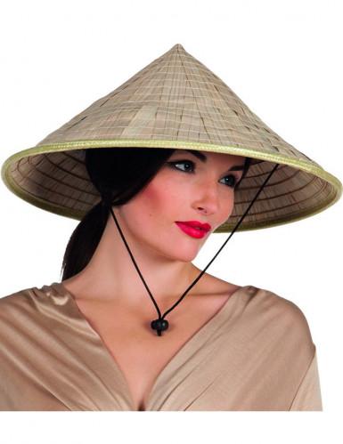 Asiatischer Kegelhut für Erwachsene