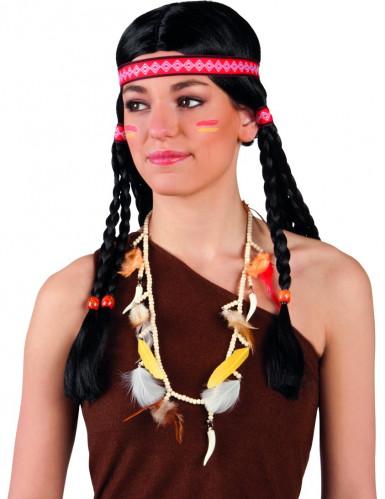 Indianerfrau-Halskette