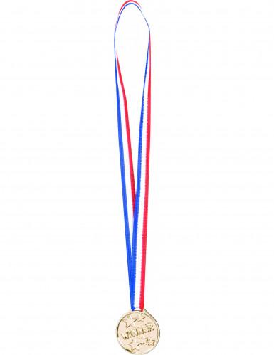 6 Gewinner-Medaillen
