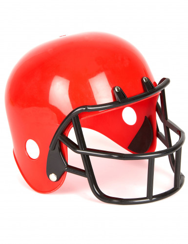 American Football Helm in Rot für Kinder