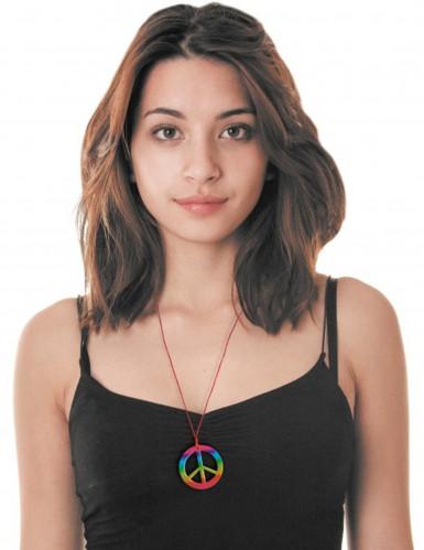 Hippie-Halskette bunt