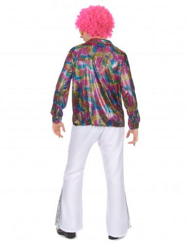 Disco-Hemd Kostüm für Herren-2