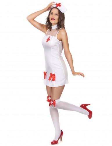 Krankenschwester Kostüm für Damen-1