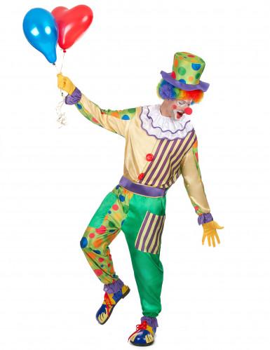 Zirkus-Clown Kostüm für Herren bunt-1
