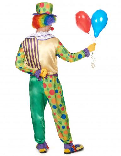 Zirkus-Clown Kostüm für Herren bunt-2