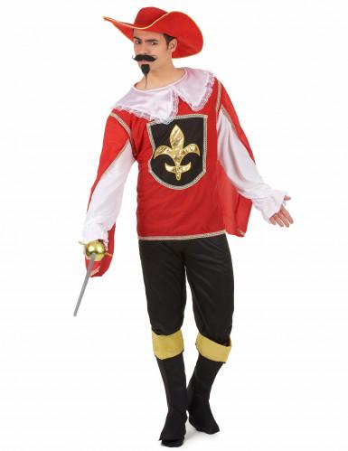 Musketier-Herrenkostüm bunt