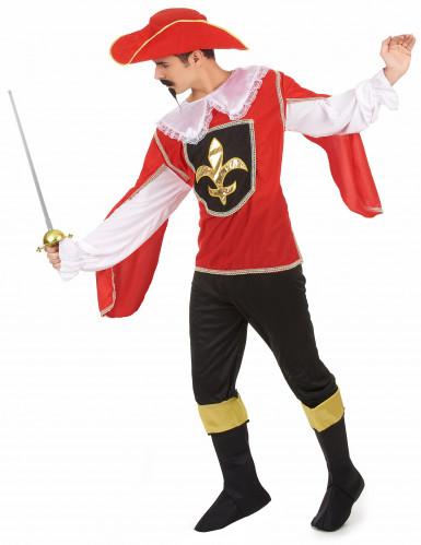 Musketier-Herrenkostüm bunt-1