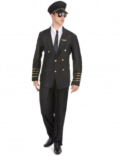 Kapitän Kostüm für Herren