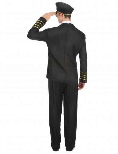 Kapitän Kostüm für Herren-2