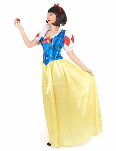 Schneeprinzessin Kostüm für Damen-1