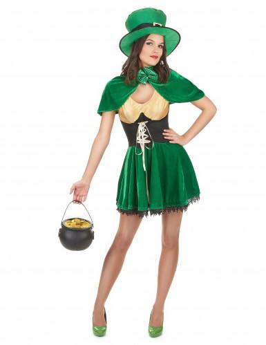 St. Patrick Leprechaun Kostüm für Damen