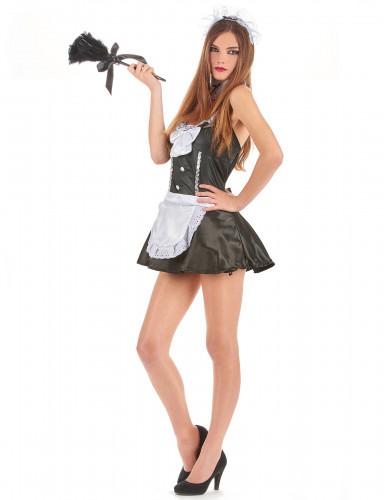 Zimmermädchen Kostüm für Damen-1